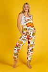 Women's Thanksgiving Pajamaralls