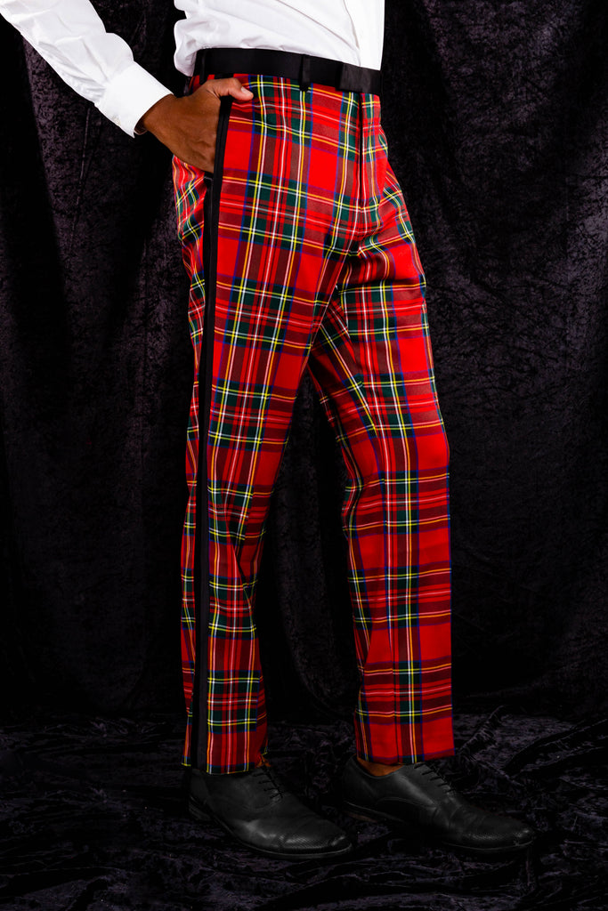 The Rockefeller | Tartan Plaid Suit Pants