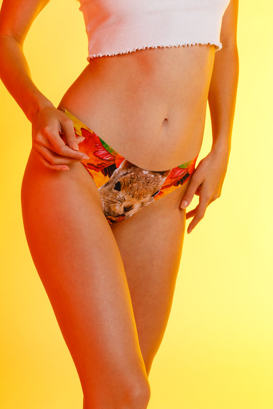 Printed Women's Thongs