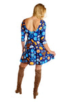 dreidel symbols dress for women