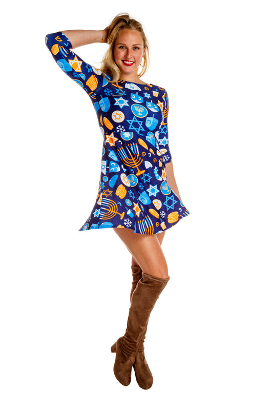 Hanukkah dress for women