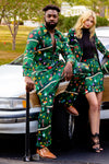 Festive Green Flight Suit for men