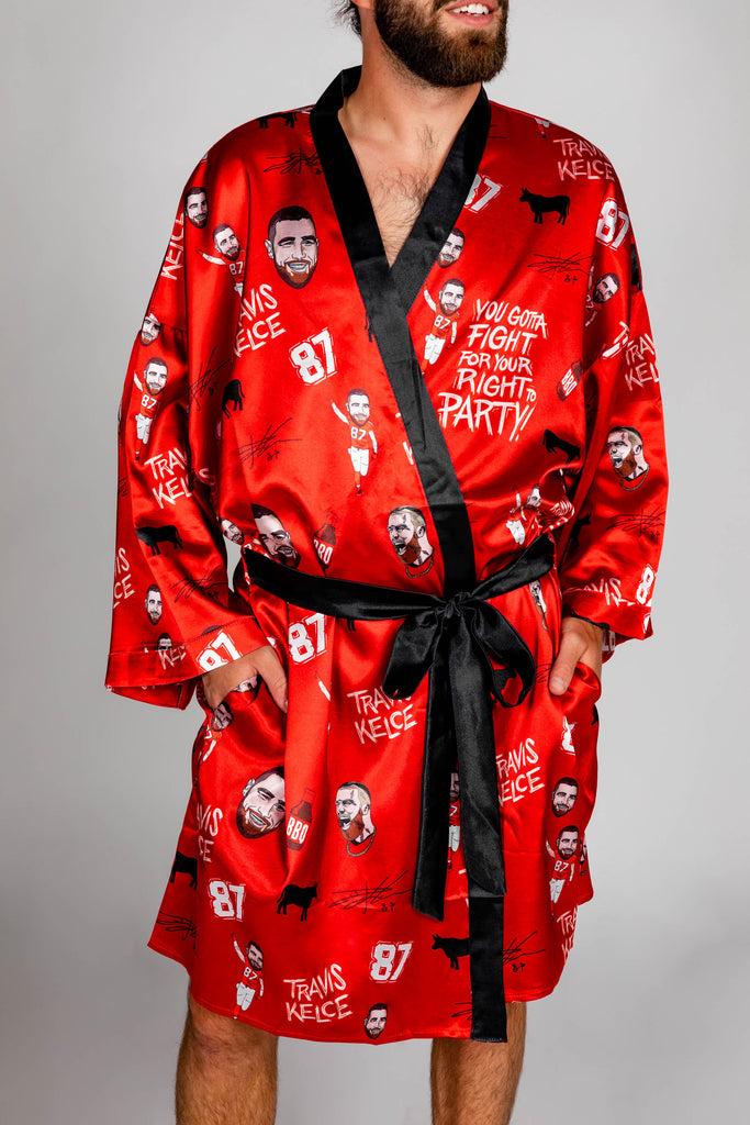 The Travis Kelce | NFL Players Association Kimono