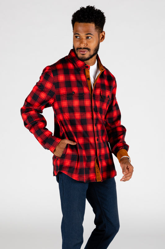 The Maple Mob buff check flannel