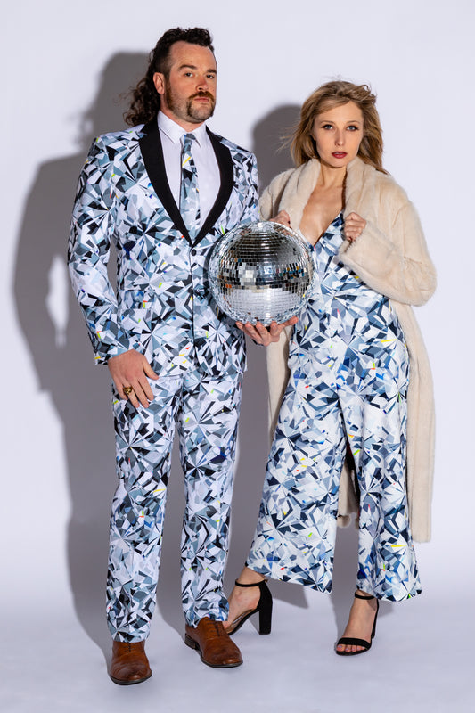 Matching NYE party outfits