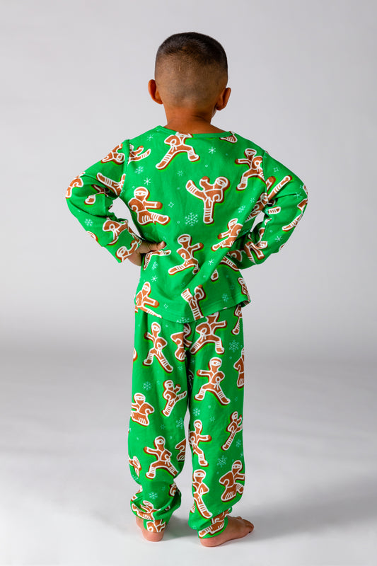 Little boy holiday pjs