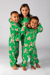 Kids matching Christmas pajamas