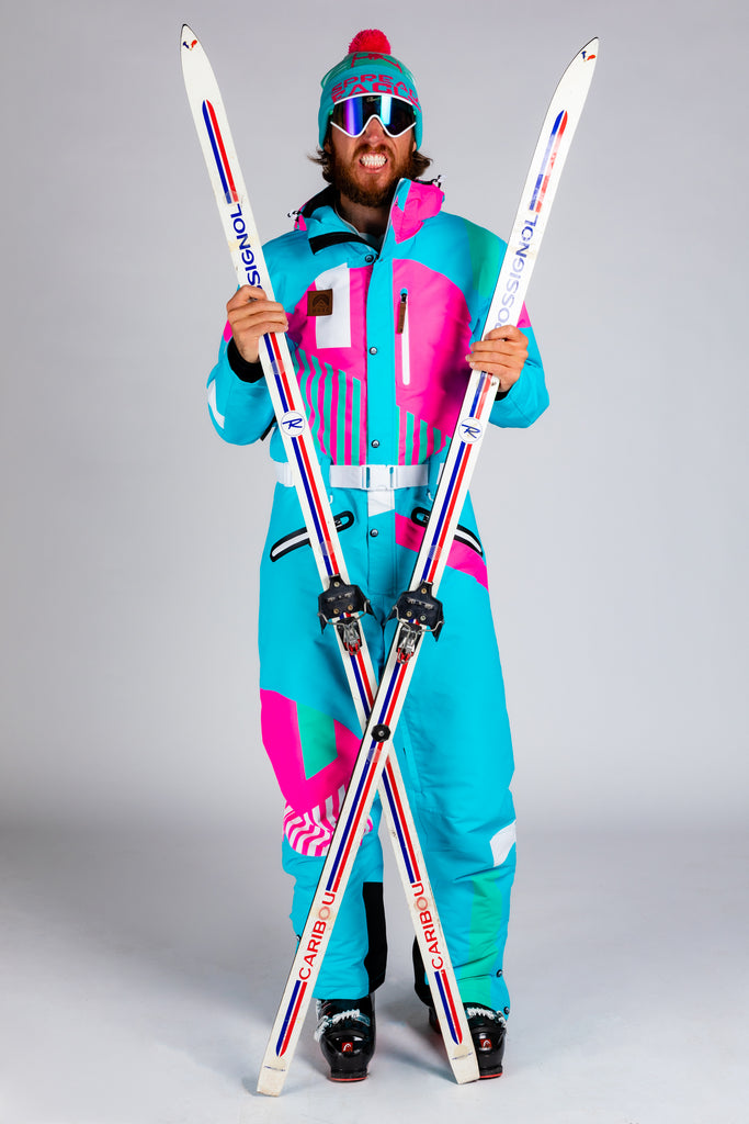 The Chairlift Chiefer | Men's Teal Ski Suit