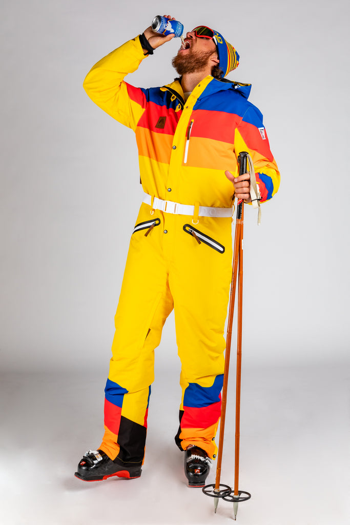 The Skittle Slinger | Retro 70s Ski Suit