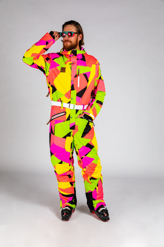 The Back Bowls | Men's 80s Retro Ski Suit