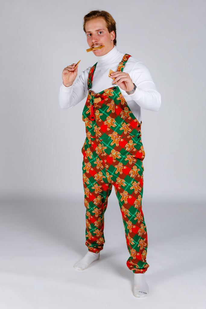 The Farquaad Fit Of Rage | Christmas Gingerbread Pajamaralls