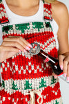 The Red Ryder | Womens Christmas Pajamaralls