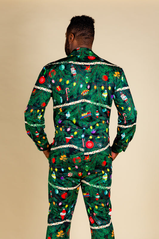 Guys Xmas Camouflage Flight Suit