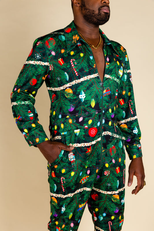 Decorated Christmas Tree Flight Suit