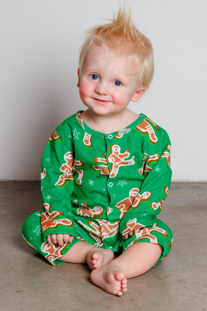 The Ninja Bread | Baby Gingerbread Christmas Pajamas
