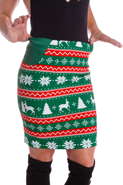 02a0522347a Women s Festive Green Fair Isle Suit by Opposuits