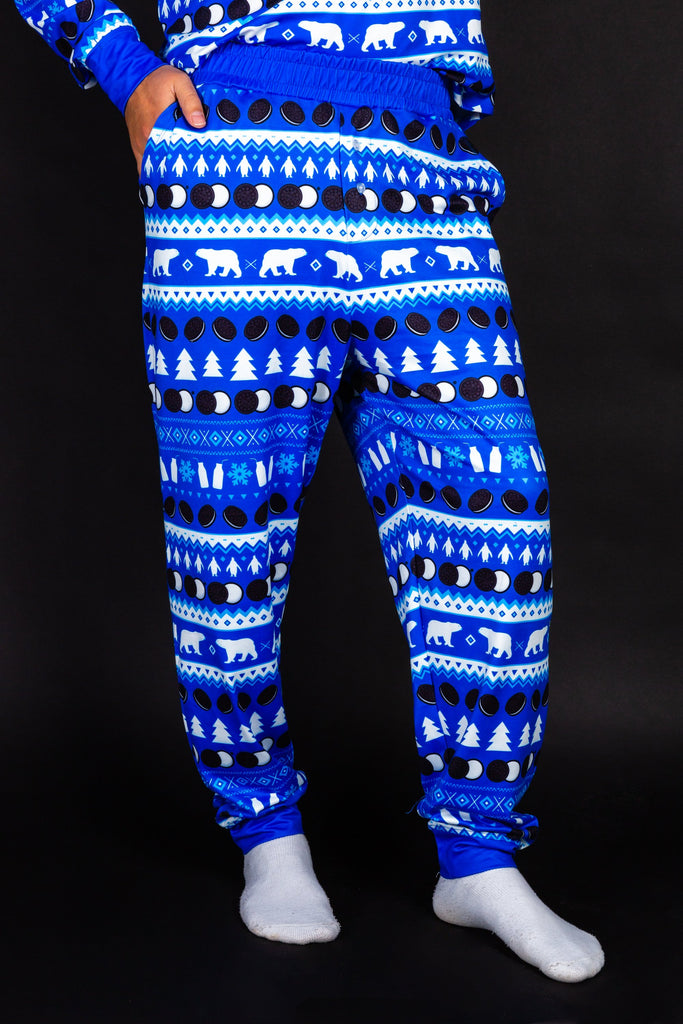 Milk's Favorite | Mens OREO Pattern Christmas Pajama Bottom