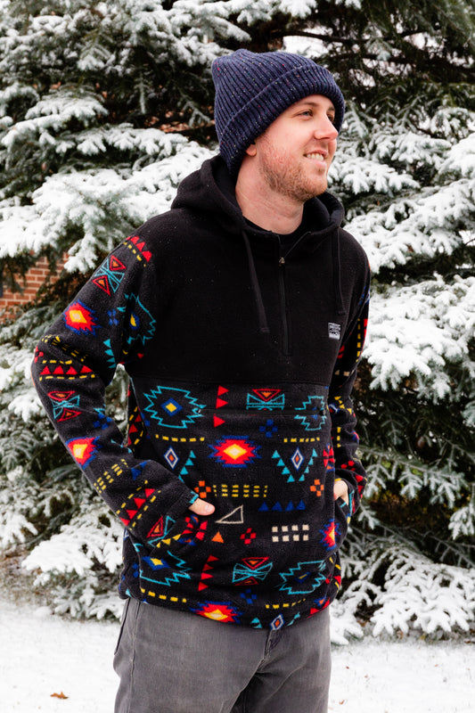 the ticket to taos retro pullover