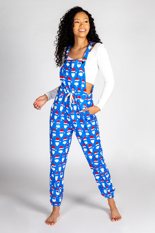 The 50 Shades of Santa | Womens Christmas Pajamaralls