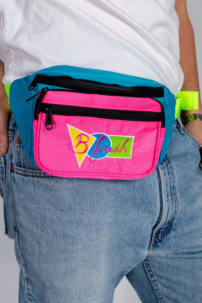 Saved By the Fanny | Retro 90's Water Resistant Fanny Pack