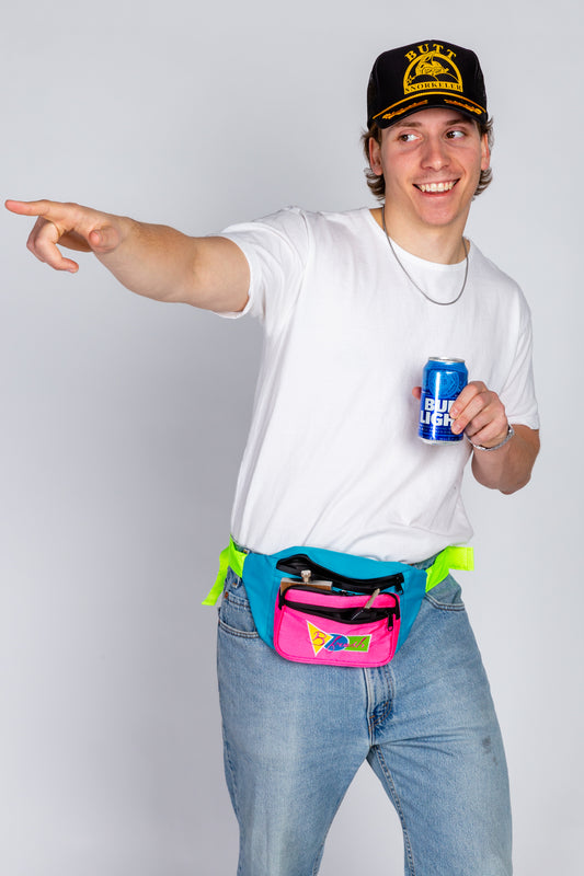 Vintage style fanny pack