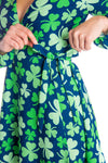 St. Patricks day shamrock dress for ladies