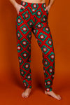 Grandma's Quilty Pleasure women's Christmas pajama bottoms