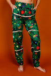 Women's Christmas Tree Print PJ Pants