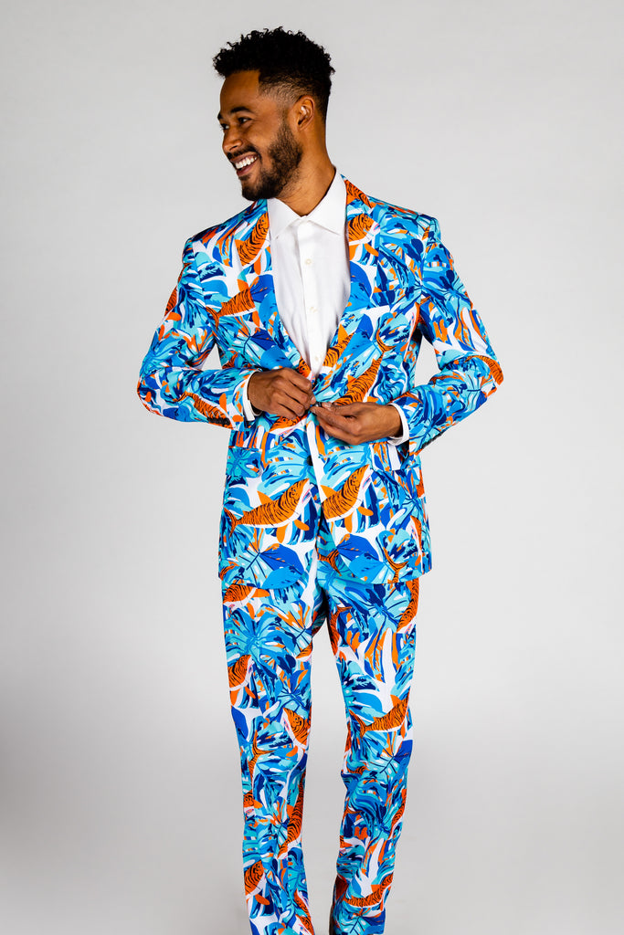 The Literalist | Tiger Shark Party Blazer