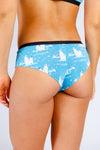 Polar Bear print cheeky underwear