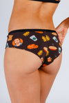 women's fall cheeky underwear