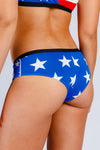 American flag cheeky undies
