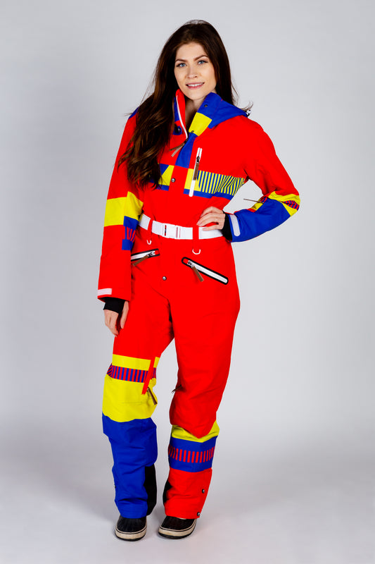 Ladies unisex hot tub time machine ski suit