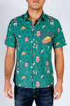The Aaron Rodgers | Green Hawaiian Shirt