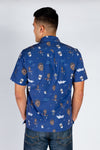 The Russell Wilson | Blue Hawaiian Shirt