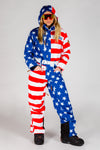the revere 2.0 USA ski suit