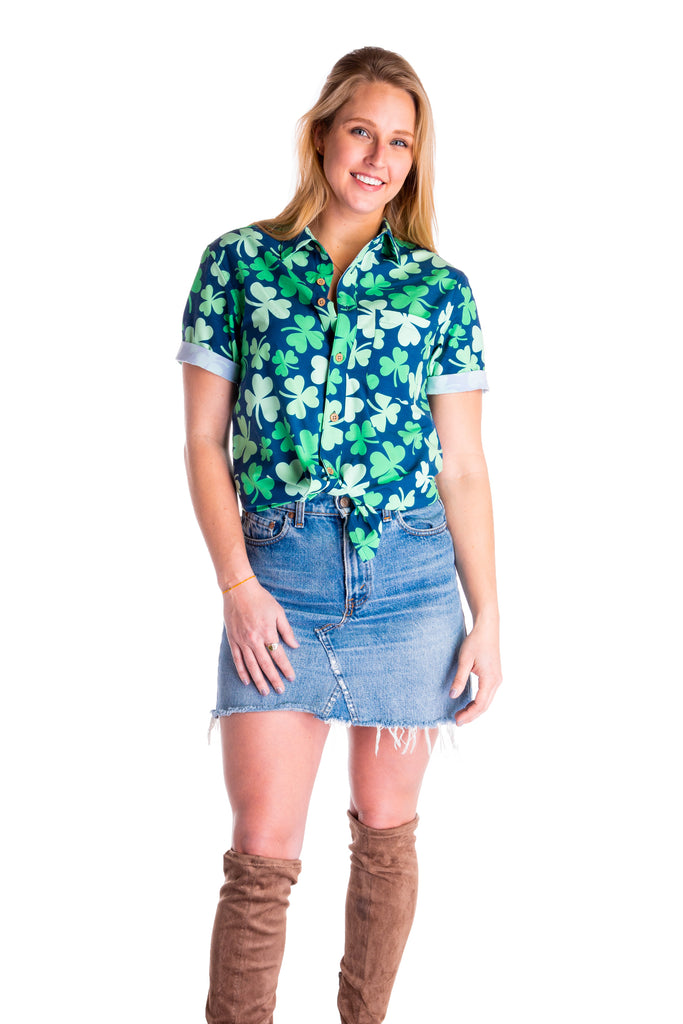 The Hawaiirish | Unisex St. Patrick's Day Hawaiian Shirt