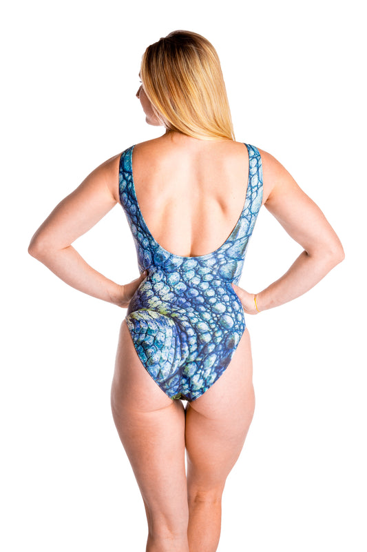 The Swamp Swimmer | Gator One-Piece Swimsuit