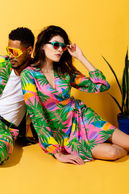 tropical outfits for men and women