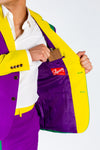 Mardi Gras Colorful Dinner Jacket