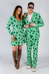 Couple's matching st. patricks day attire
