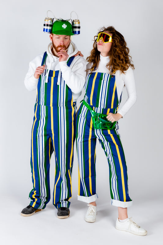 The dubliner couples overalls