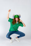 Ladies St. Patick's Day Leprechaun Party shirt