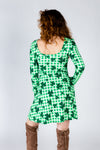 Reversible st. patty's day dress