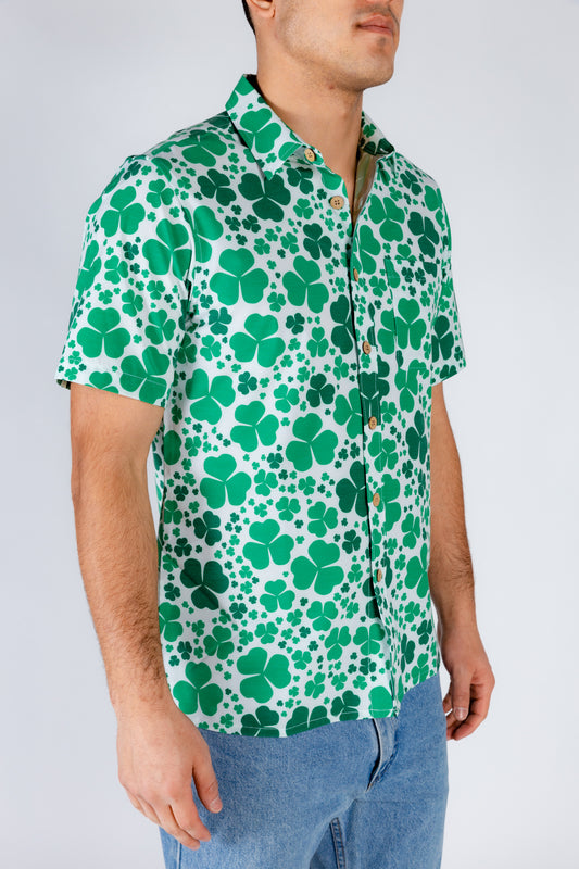 St. Patrick's Day Hawaiian Shirt