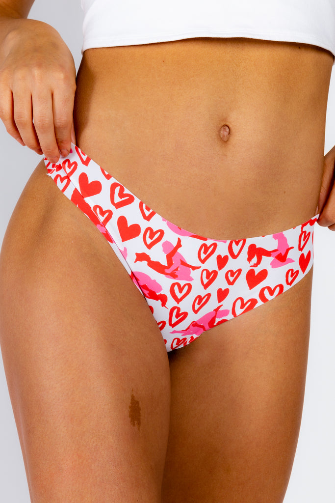 The Kama Sutra | Valentine's Day Seamless Thong