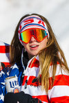 The Salt Lake | White USA Ski Headband