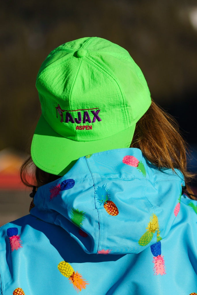 The Ajax Enforcer Green Ajax Aspen Retro Ski Hat