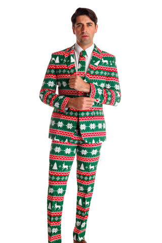 ugly christmas sweater suit for men