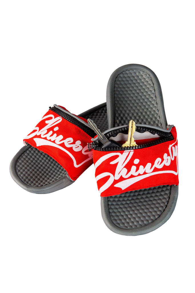 The Shiner Slips | Shinesty Fanny Pack Slippers